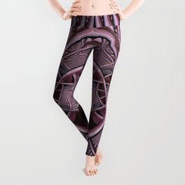 Mind-boggling, fractal abstract Leggings