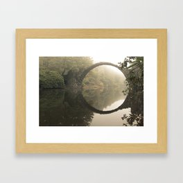 Mystic place Framed Art Print