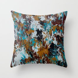 Rum and Coke Throw Pillow