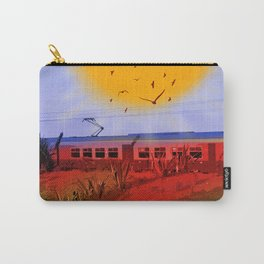 The Train Passed By Carry-All Pouch