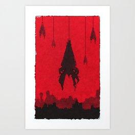 Mass Effect - Reapers Art Print