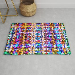 Multicolored lamp shades Rug
