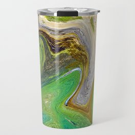 Golden Tapestry Travel Mug