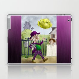 the Bowl Hat & Blowfish Laptop & iPad Skin