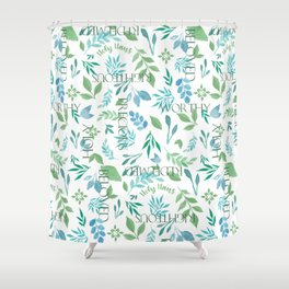 Holy Haus Bloom Shower Curtain