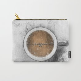 Coffee Heartbeat Carry-All Pouch