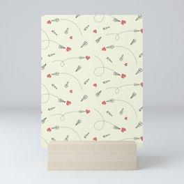 Sending Love Mini Art Print