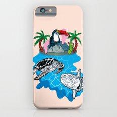Tropical island  Slim Case iPhone 6s