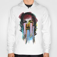 lovecraft Hoodies featuring Howard Phillips Lovecraft  by DIVIDUS