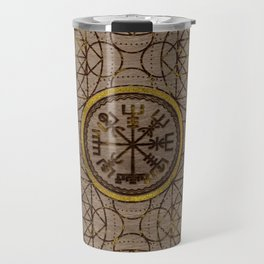 Vegvisir. The Magic Navigation Viking Compass Travel Mug