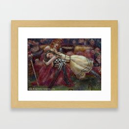 Magic Tales Series - Alice in Wonderland Framed Art Print