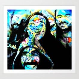 Good Vibe Crew Art Print