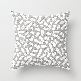 I Dream of Toilet Paper Throw Pillow