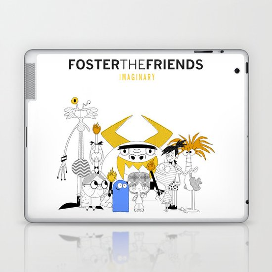 Foster the Friends Laptop & iPad Skin