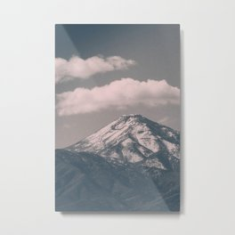 Moody Navada Mountain Metal Print