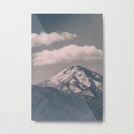 Moody Navada Mountain Metal Print