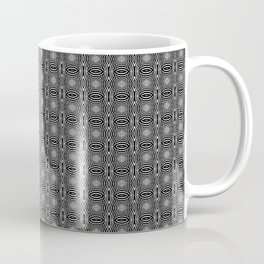 Zebra Illusions Pattern Coffee Mug