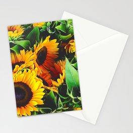 Sunfowers by Lika Ramati Stationery Cards