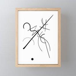 Kandinsky Framed Mini Art Print