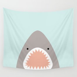 shark attack Wall Tapestry