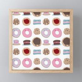 Evil Desserts Framed Mini Art Print