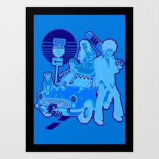 The Run Art Print