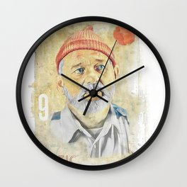 BILL MURRAY - ZISSOU Wall Clock
