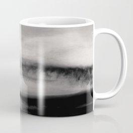 WHITE & BLACK TOUCHING #2 #abstract #decor #art #society6 Coffee Mug
