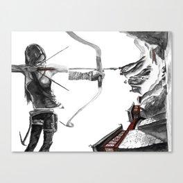 Lara Croft: Dimensional Shift  Canvas Print
