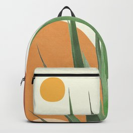 Abstract Agave Plant Backpack