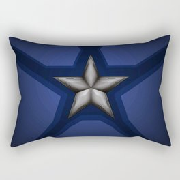 Captain Steve Rogers Rectangular Pillow