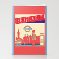 london Stationery Cards featuring LONDON by famenxt
