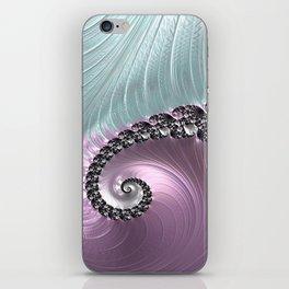 Pink Swirl iPhone Skin