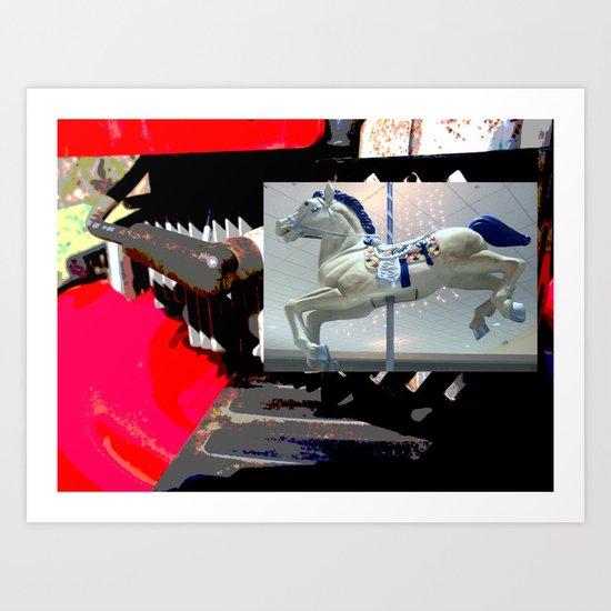 say yes to ponies Art Print