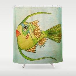 Apple Fizz Shower Curtain