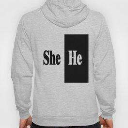 She vs He Hoody