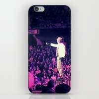 concert iPhone & iPod Skins featuring Concert Photo by M. W.