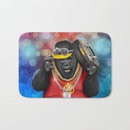 Rapper of the apes Bath Mat