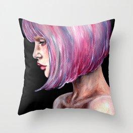 Lucy Petal-2012  Throw Pillow