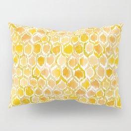 Golden Honeycomb Pillow Sham