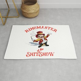 The Ringmaster of the shitshow Rug