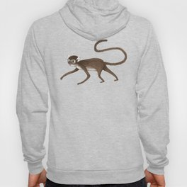 Squirrel Monkey Walking Hoody