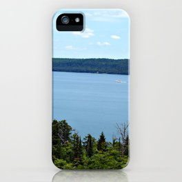 Perfect Day on Lake Superior iPhone Case