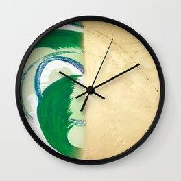 Create and Vanish Wall Clock