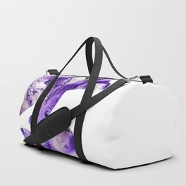 Abstract Art Purple Dolphins Duffle Bag