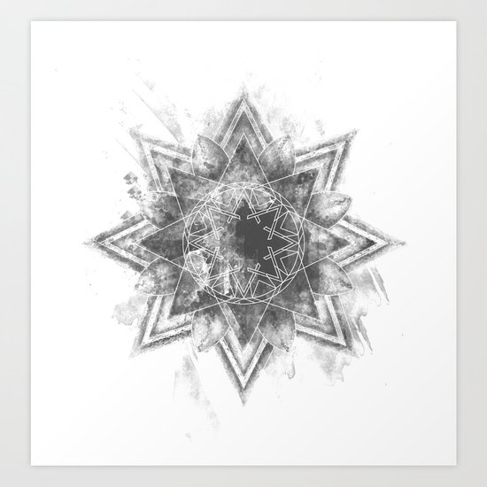 The Darken Stars Art Print