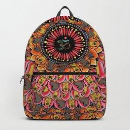 Pug Yoga Mandala Backpack