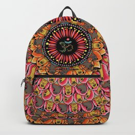 Pug Yoga Mandala Backpack
