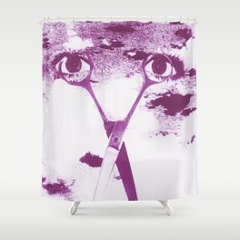 Five Senses IV - Eyes on you Shower Curtain