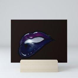 Midnight Kiss Mini Art Print